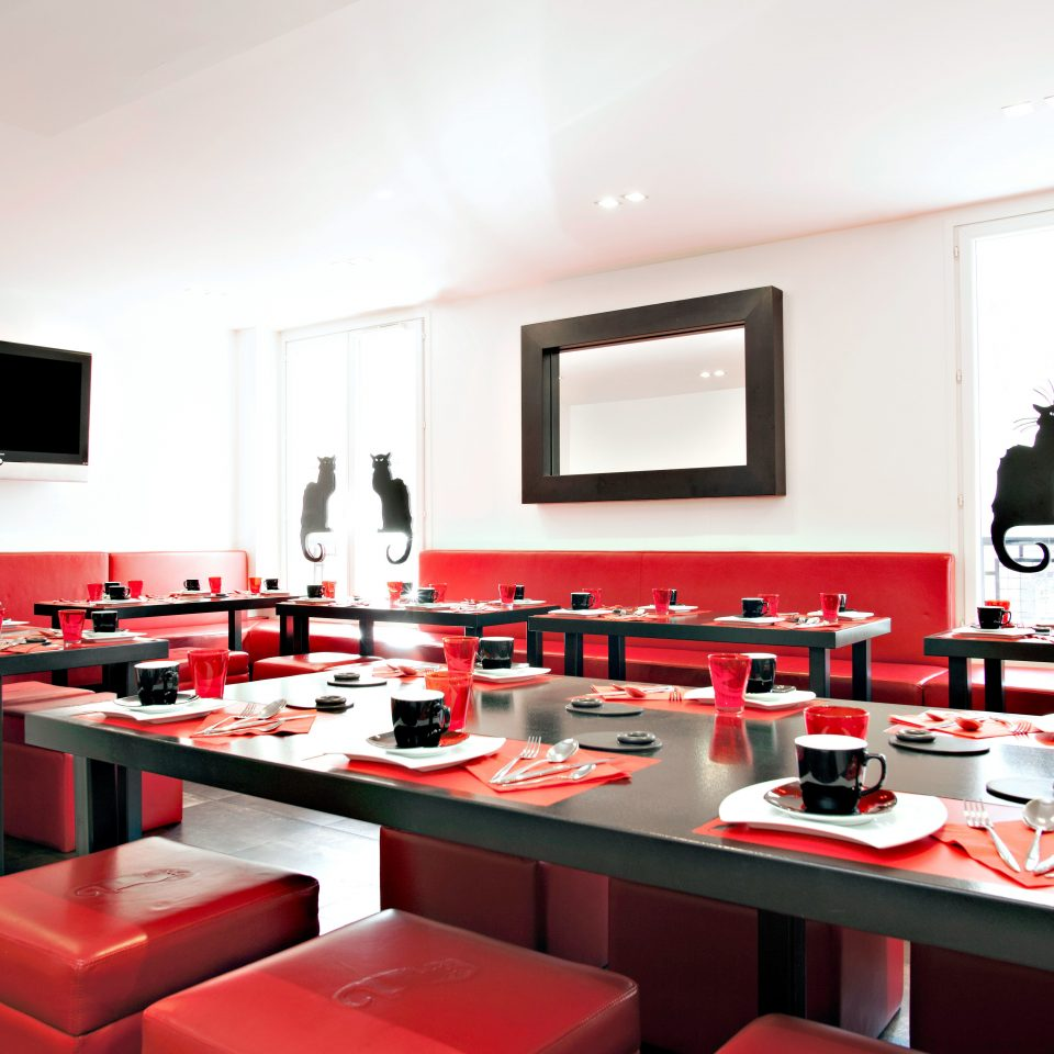 City Dining Drink Eat red restaurant conference hall function hall flat