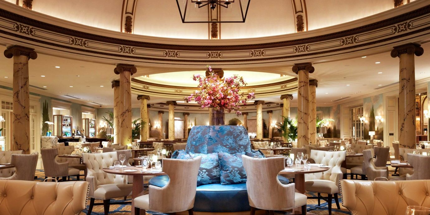 City Dining Drink Eat Luxury Resort Lobby function hall ballroom palace restaurant