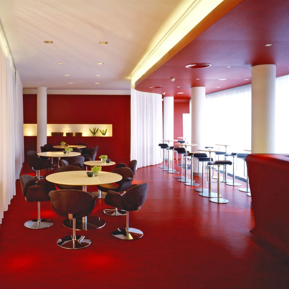 City Dining Drink Eat Modern red conference hall function hall recreation room restaurant