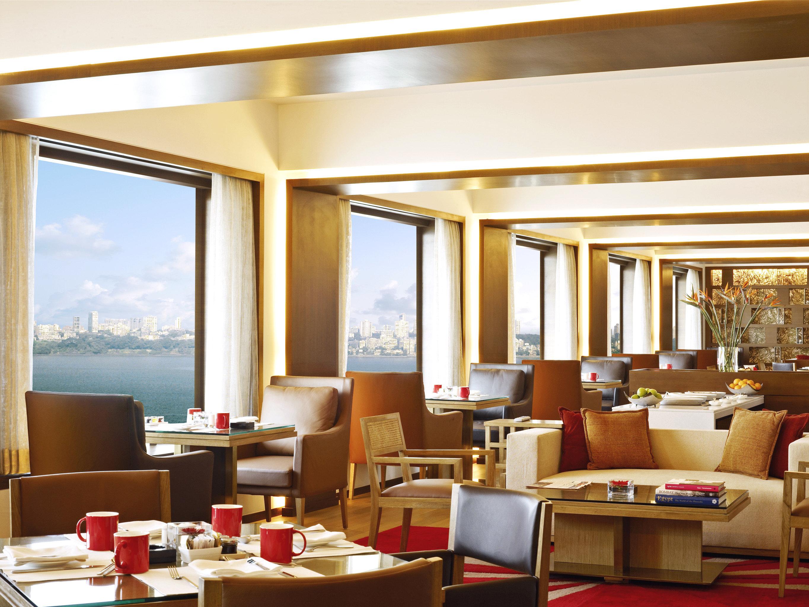 City Dining Drink Eat Modern Waterfront restaurant living room Suite condominium Resort