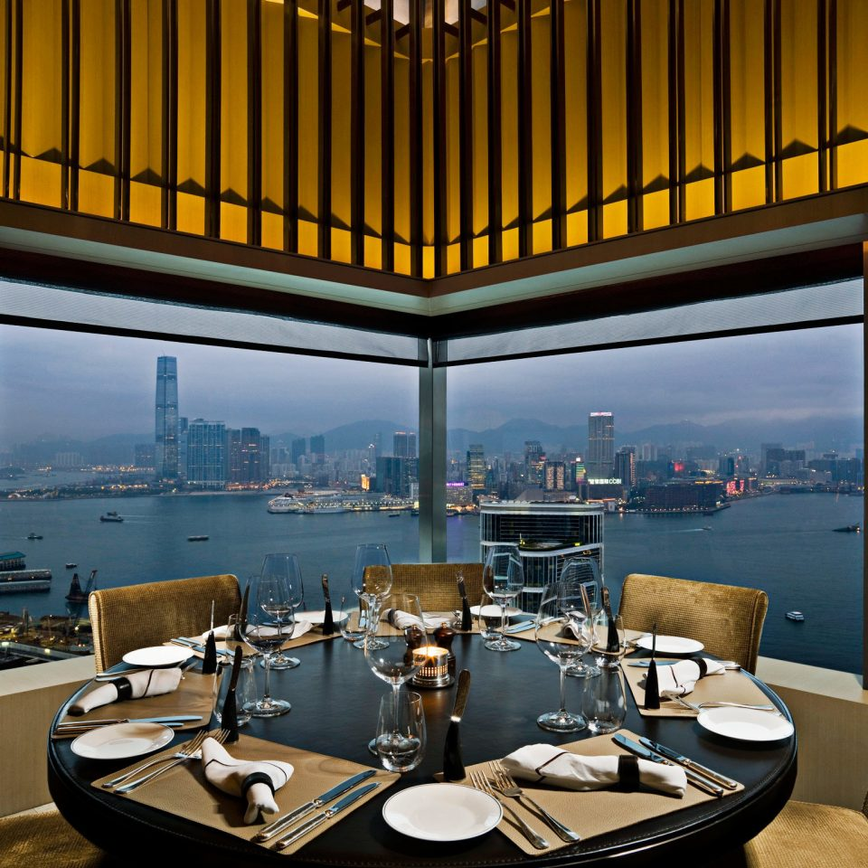 City Dining Drink Eat Food + Drink Scenic views Waterfront living room restaurant lighting home Lobby Suite