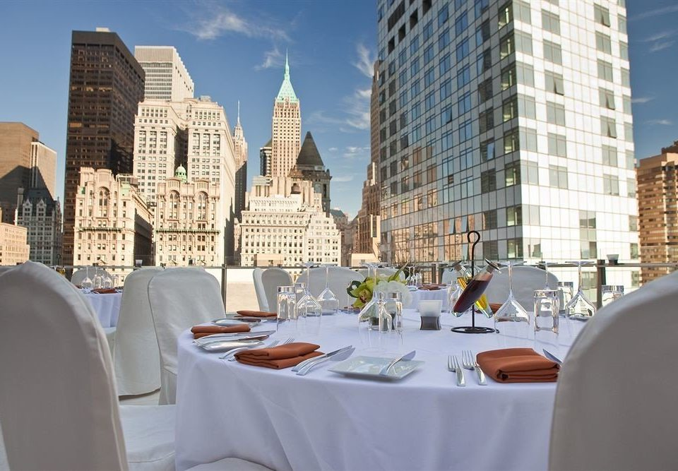 City Dining Drink Eat Scenic views building restaurant condominium