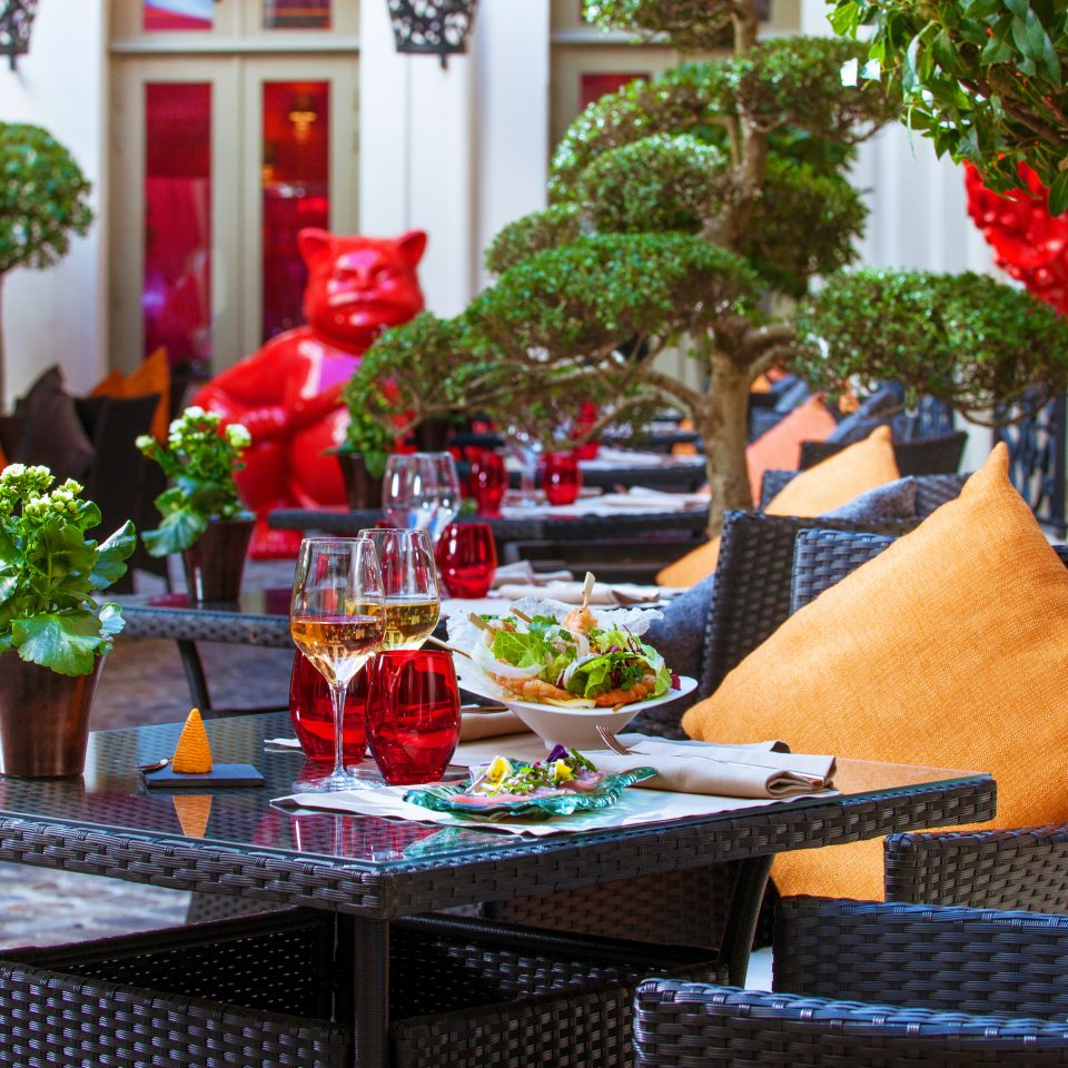 City Dining Drink Eat Grounds Hip Luxury Romance chair floristry home restaurant