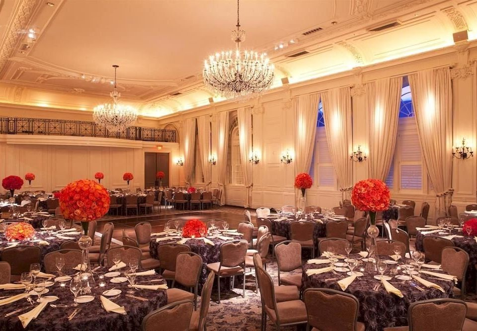 City Dining Elegant function hall banquet ballroom wedding reception Party restaurant conference hall convention center