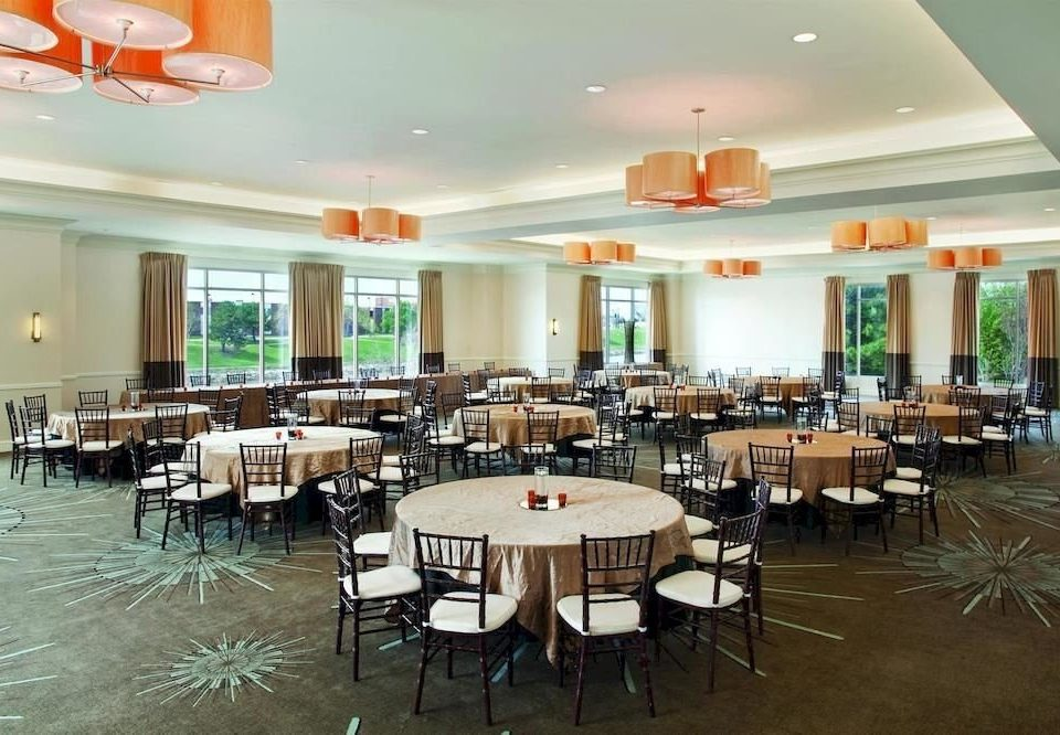City Dining Modern chair function hall restaurant scene cafeteria conference hall banquet convention center ballroom Island