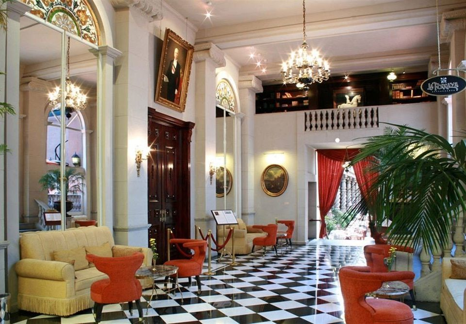 City Lobby Lounge property Dining living room home mansion palace Resort restaurant Villa condominium plant dining table