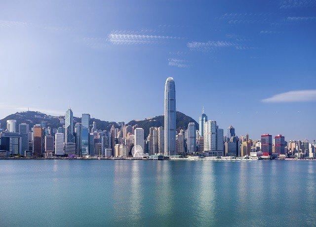 sky skyline metropolitan area skyscraper horizon City cityscape landmark metropolis Downtown tower block atmosphere of earth dusk panorama day