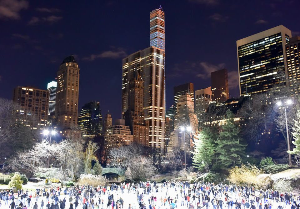 building metropolitan area City metropolis landmark skyline night cityscape Downtown skyscraper mecca crowd tall