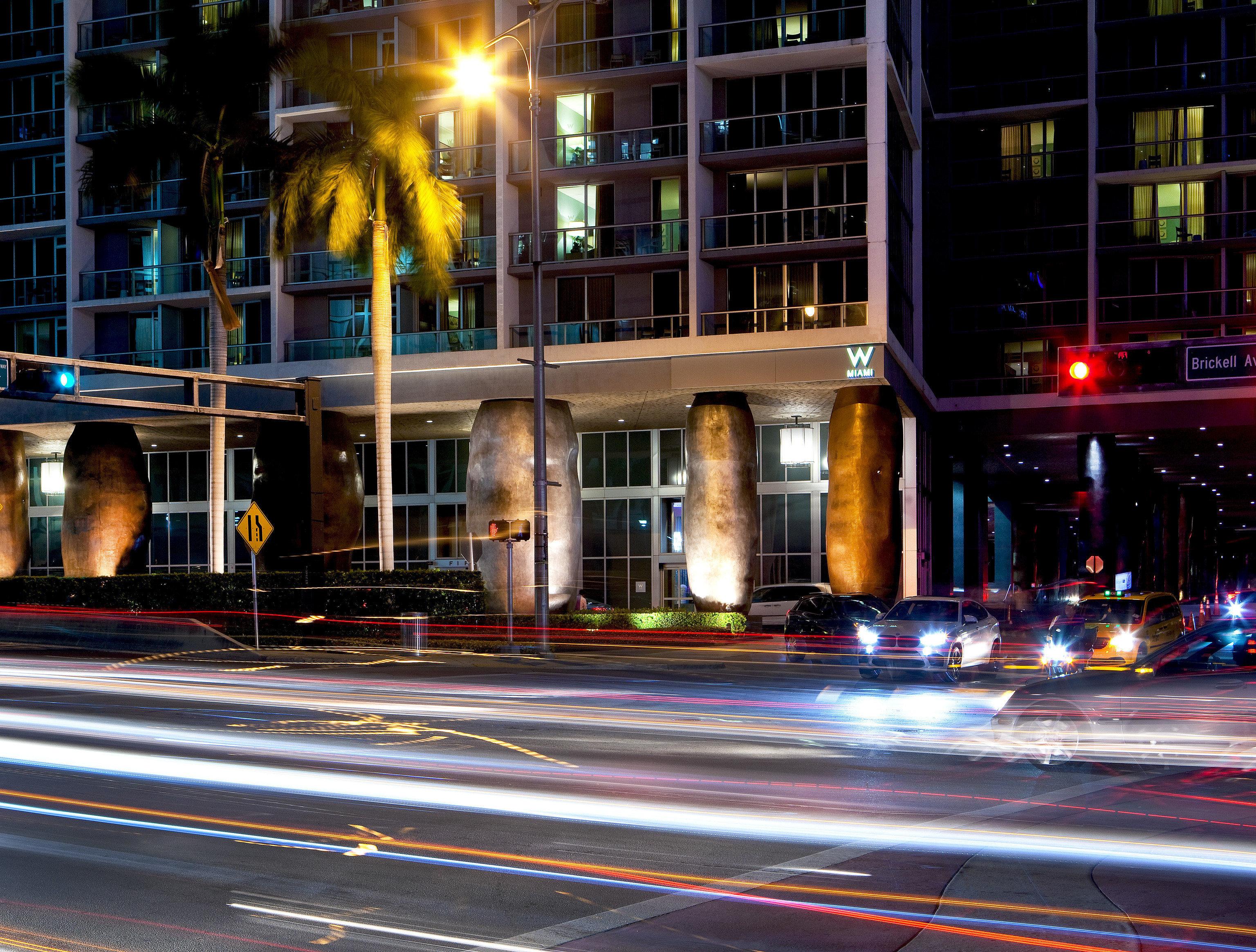 building road metropolitan area street night City metropolis cityscape lane light evening Downtown traffic lighting pedestrian skyscraper