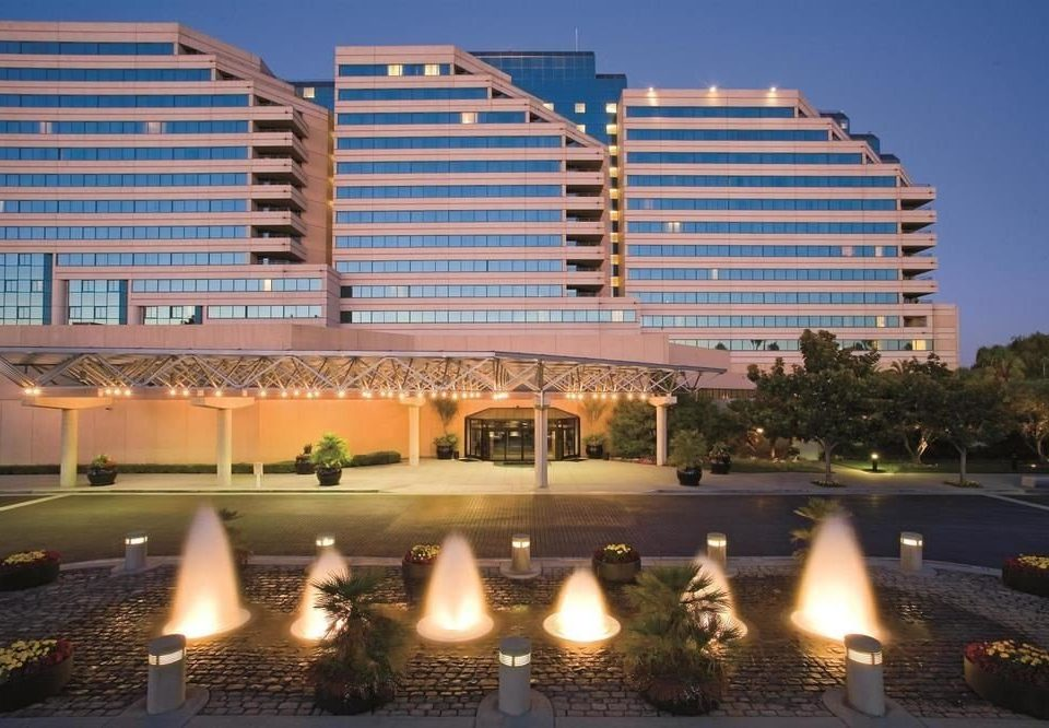 building landmark plaza orange Downtown convention center condominium City highway