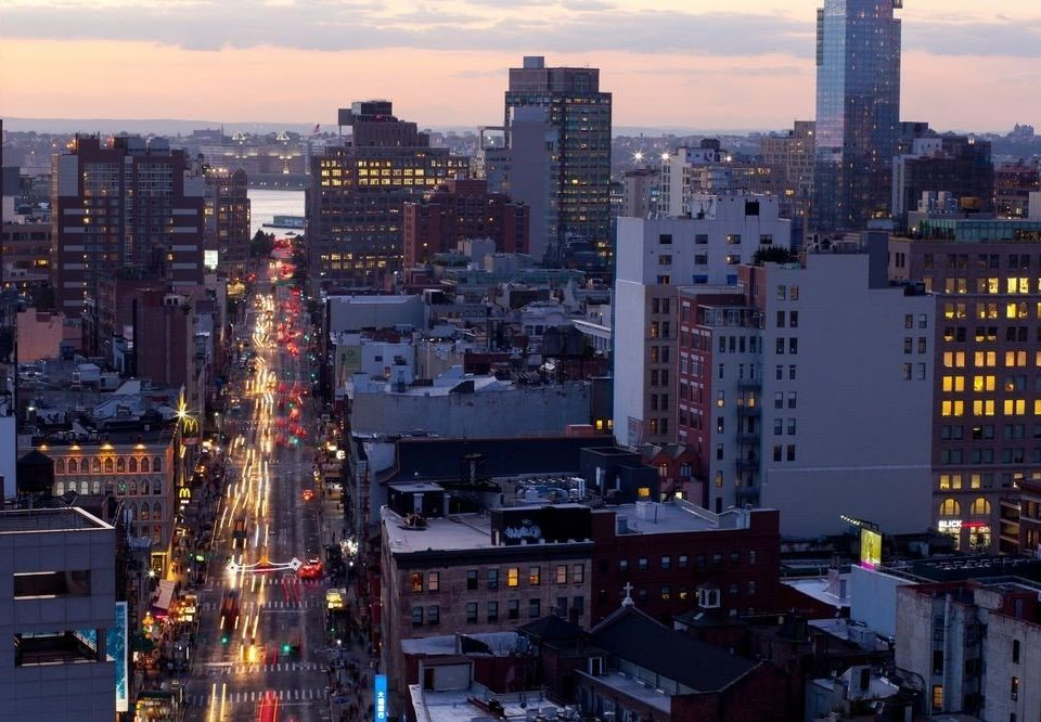 sky metropolitan area metropolis skyline City cityscape skyscraper night horizon Downtown neighbourhood evening residential area dusk tower block crowd