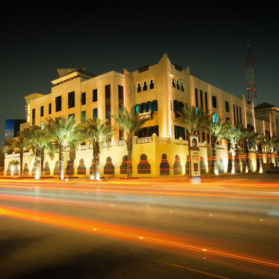 road street metropolitan area night landmark City cityscape light metropolis evening Downtown lighting plaza dusk town square