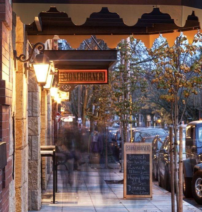 City Elegant Exterior Town plaza Downtown restaurant shopping