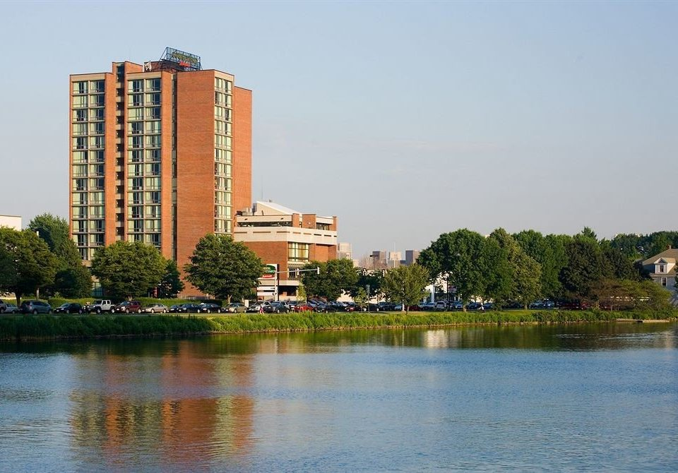 water sky Lake Nature landmark River City skyline cityscape Downtown tower block waterway pond shore surrounded