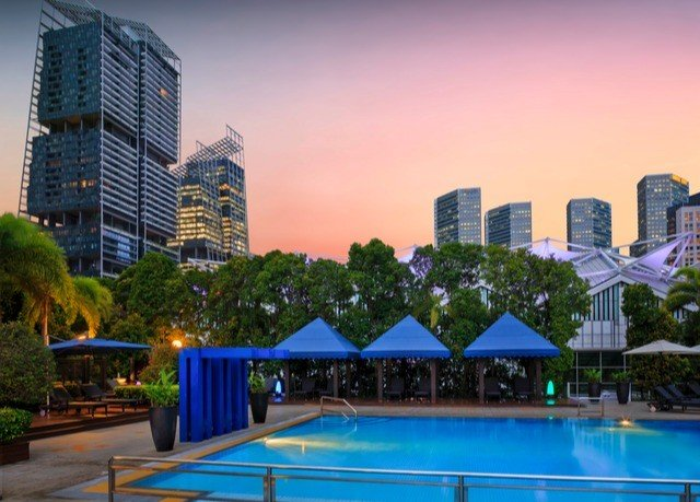 metropolitan area property condominium cityscape City swimming pool skyline mixed use sky Downtown leisure Resort skyscraper residential area metropolis daytime evening blue home computer wallpaper tower block colorful