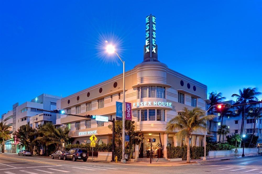 building road sky street Town plaza landmark light City town square Downtown cityscape Resort shopping mall residential area way