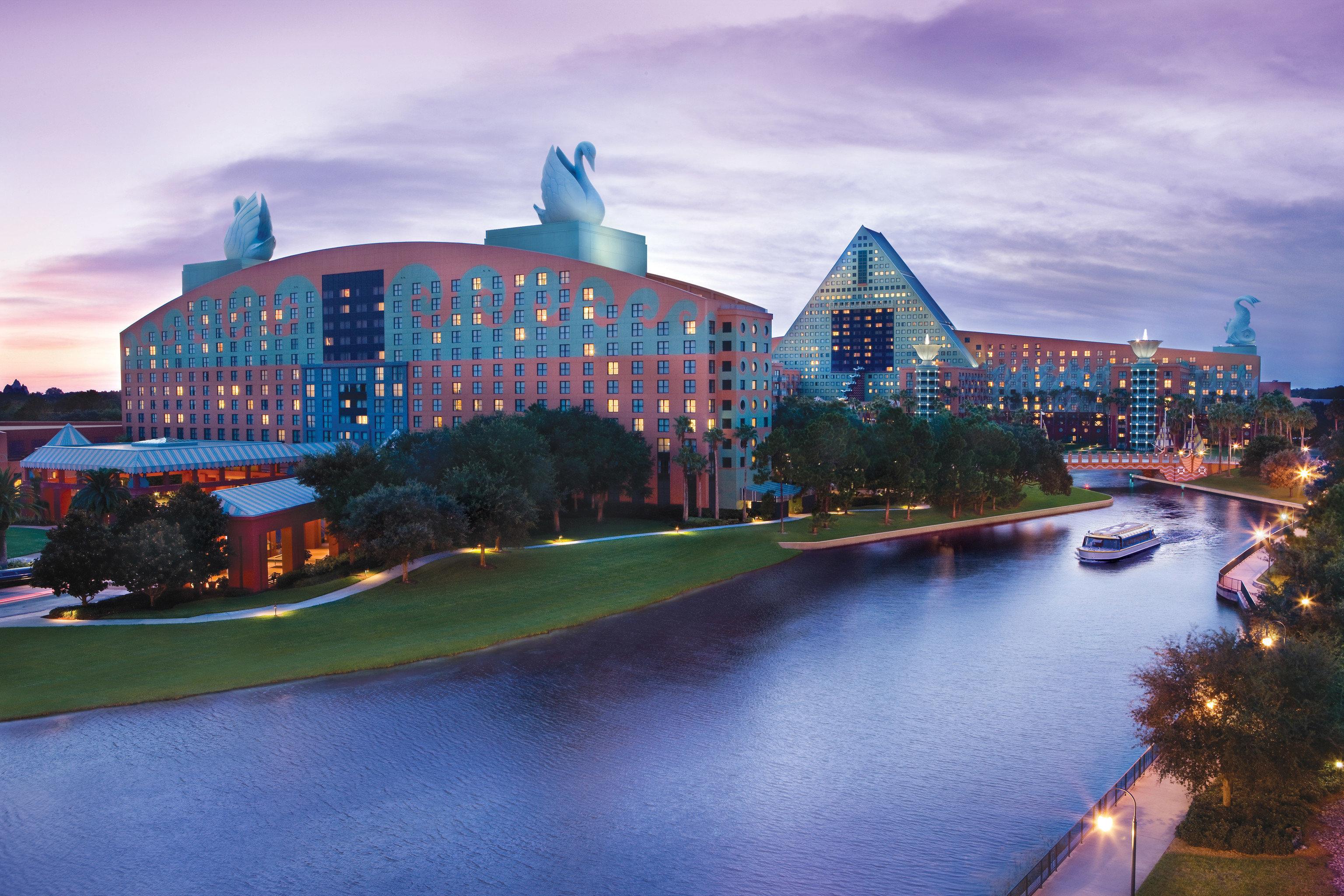 sky landmark City cityscape skyline night sport venue River evening Downtown waterway dusk aerial photography