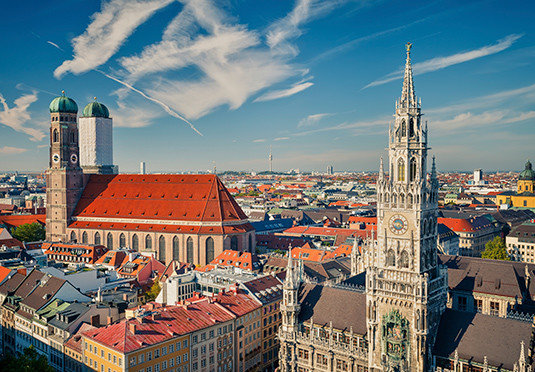 sky metropolitan area cityscape City skyline landmark metropolis Town skyscraper Downtown tower tower block
