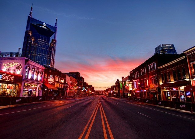 sky road street Town night City landmark cityscape evening red Downtown way dusk infrastructure highway