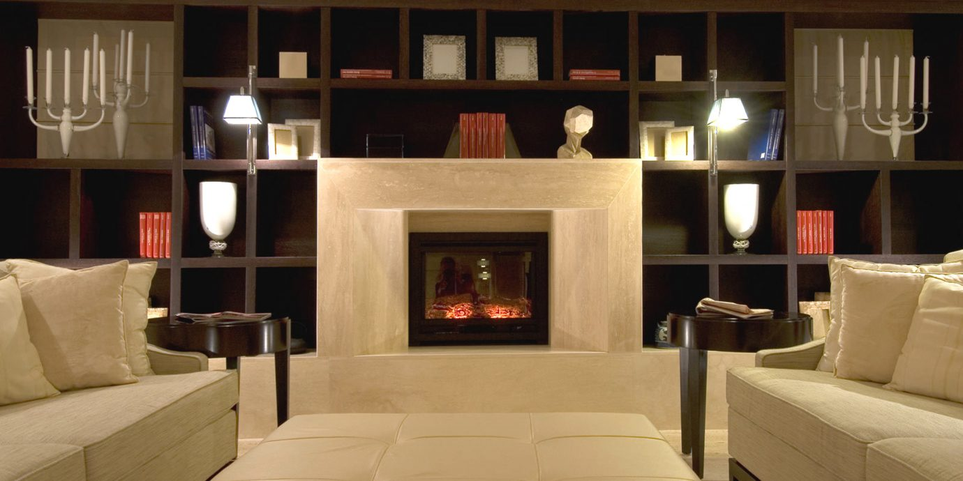 City Elegant Lounge sofa living room property home Fireplace lighting cabinetry Modern