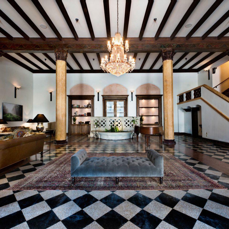 City Elegant Hip Hotels Lobby Lounge Modern Trip Ideas property mansion home Villa living room Resort flooring function hall hacienda