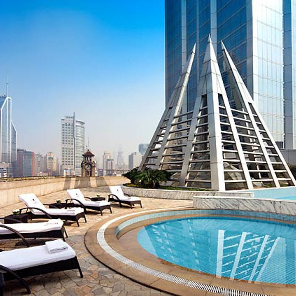 City Elegant Hip Luxury Modern Pool sky landmark skyscraper skyline cityscape plaza tower block condominium