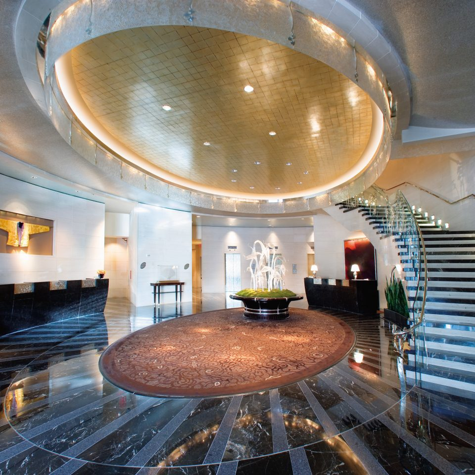 City Elegant Lobby Luxury convention center cooking pan