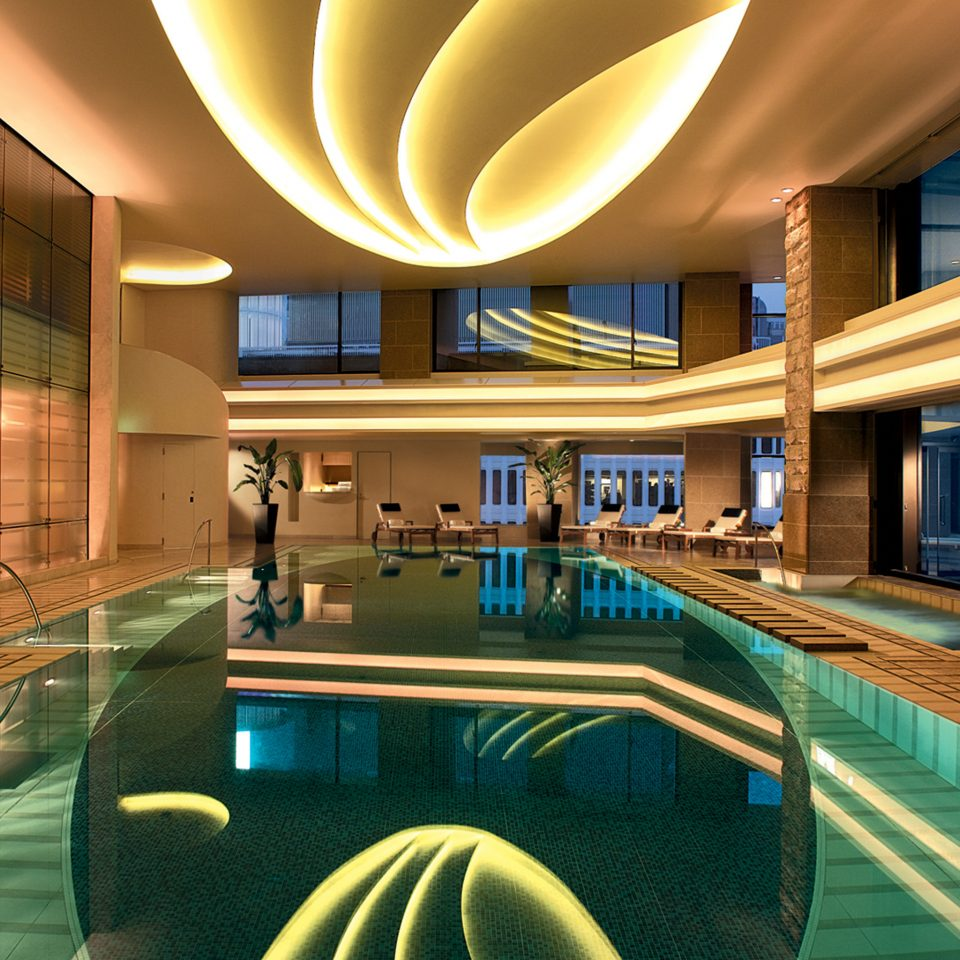 City Elegant Luxury Modern Pool Spa Wellness leisure swimming pool Resort Lobby convention center condominium