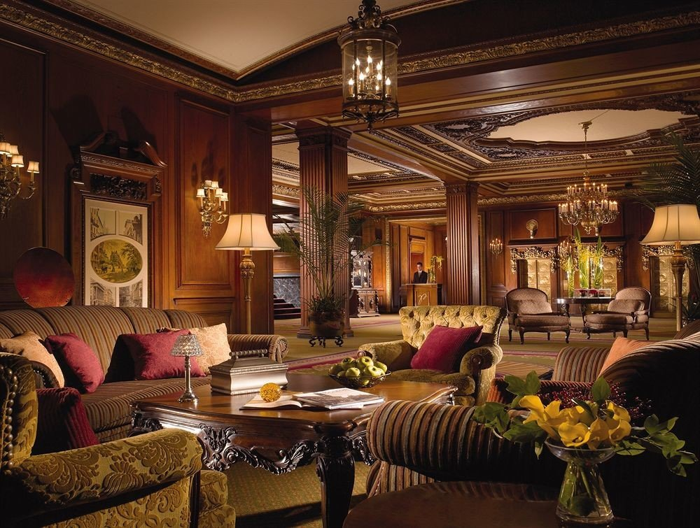 City Elegant Lobby living room mansion home recreation room Suite palace