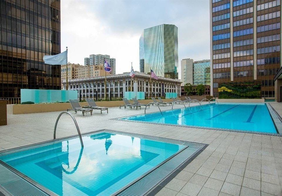 Exterior Hot tub/Jacuzzi Lounge Pool building swimming pool condominium property leisure leisure centre reflecting pool Resort City blue bathtub