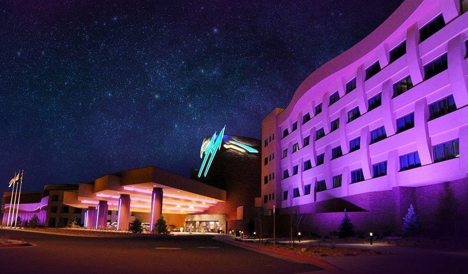 Exterior Luxury Nightlife night light theatre evening City colorful