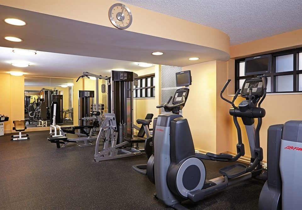 City Family Fitness structure gym property sport venue condominium office