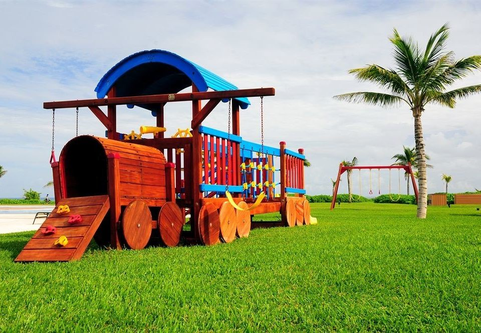 Family Grounds Kids Club Play grass sky Playground City public space outdoor play equipment outdoor recreation outdoor object