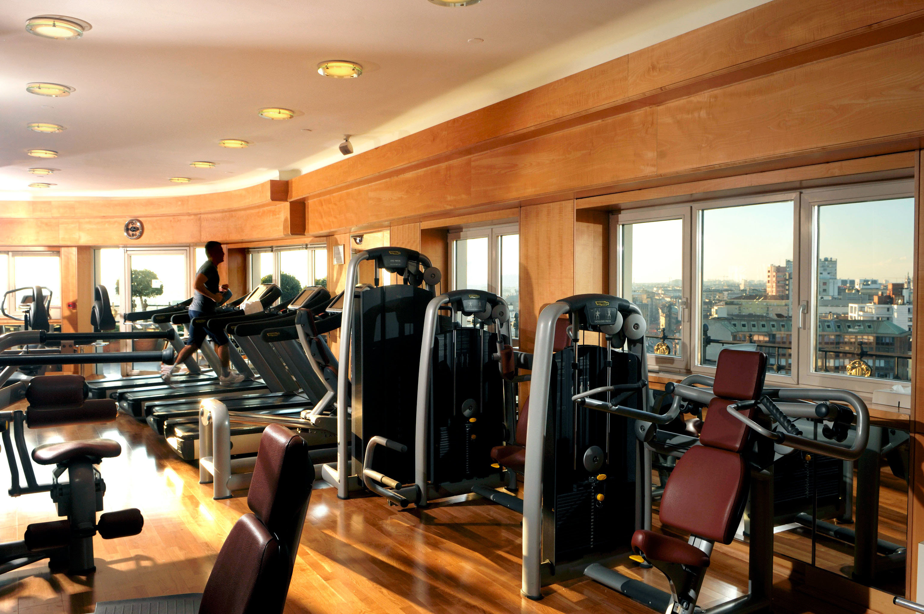 City Fitness Historic Luxury Scenic views structure sport venue gym office condominium cluttered