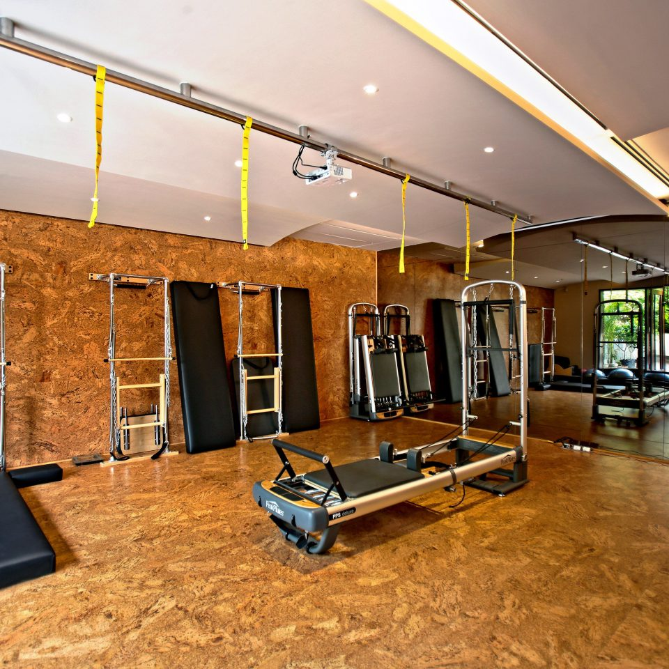 City Fitness Modern Sport Wellness property Lobby home recreation room living room condominium office