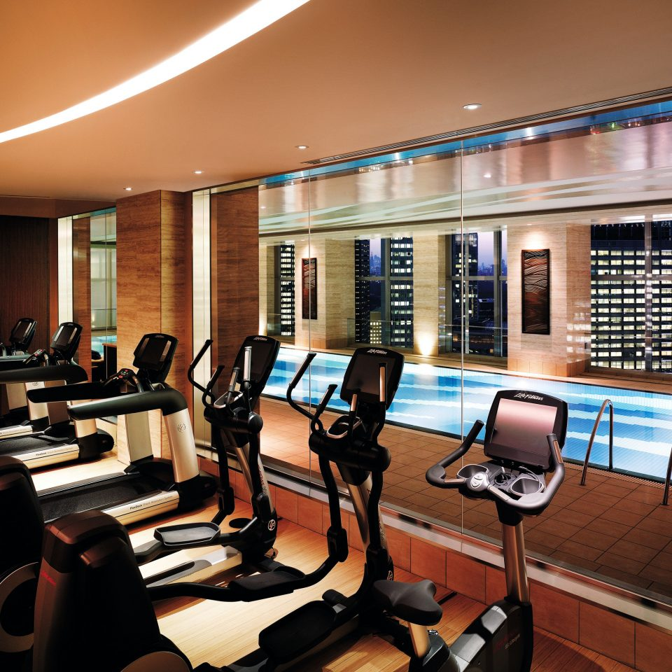 City Fitness Modern Sport Wellness conference hall condominium recreation room