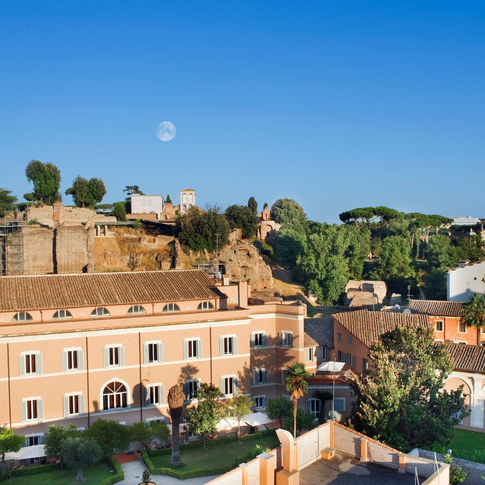 City Garden Grounds Historic Scenic views building Town house neighbourhood plaza residential area palace ancient rome Village town square cityscape panorama