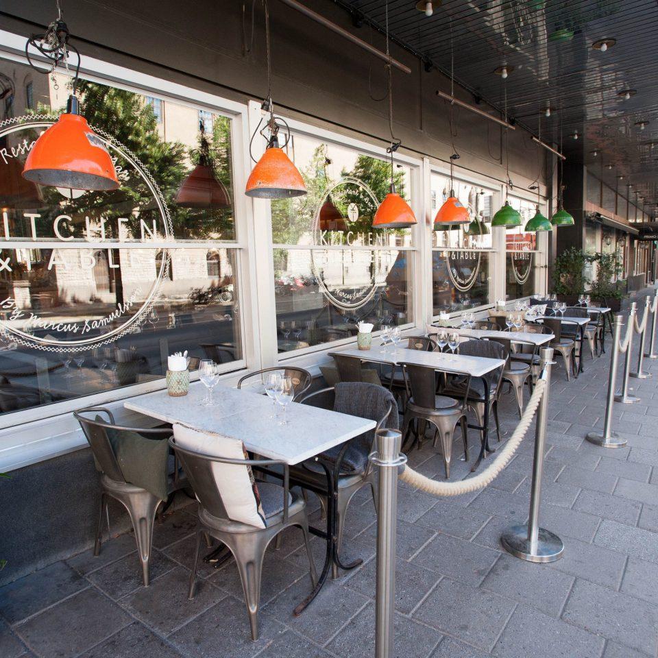 ground City public space restaurant