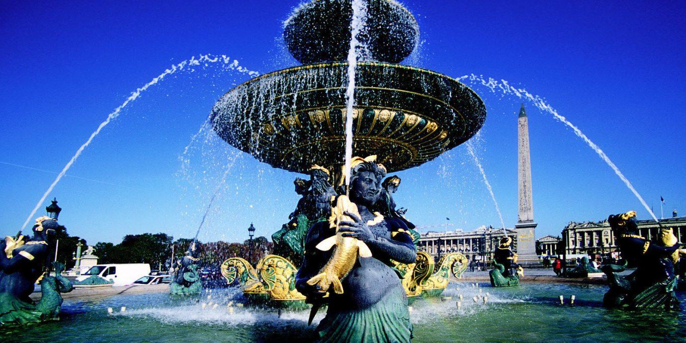 City Hip Historic Luxury Romance Scenic views sky landmark amusement park night fountain Resort water feature ferris wheel world park blue