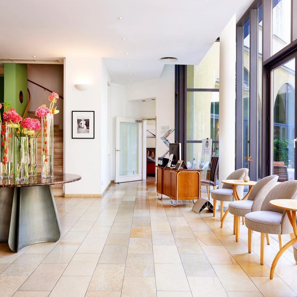 City Hip Lobby Lounge Modern property building condominium home waiting room living room flooring Resort