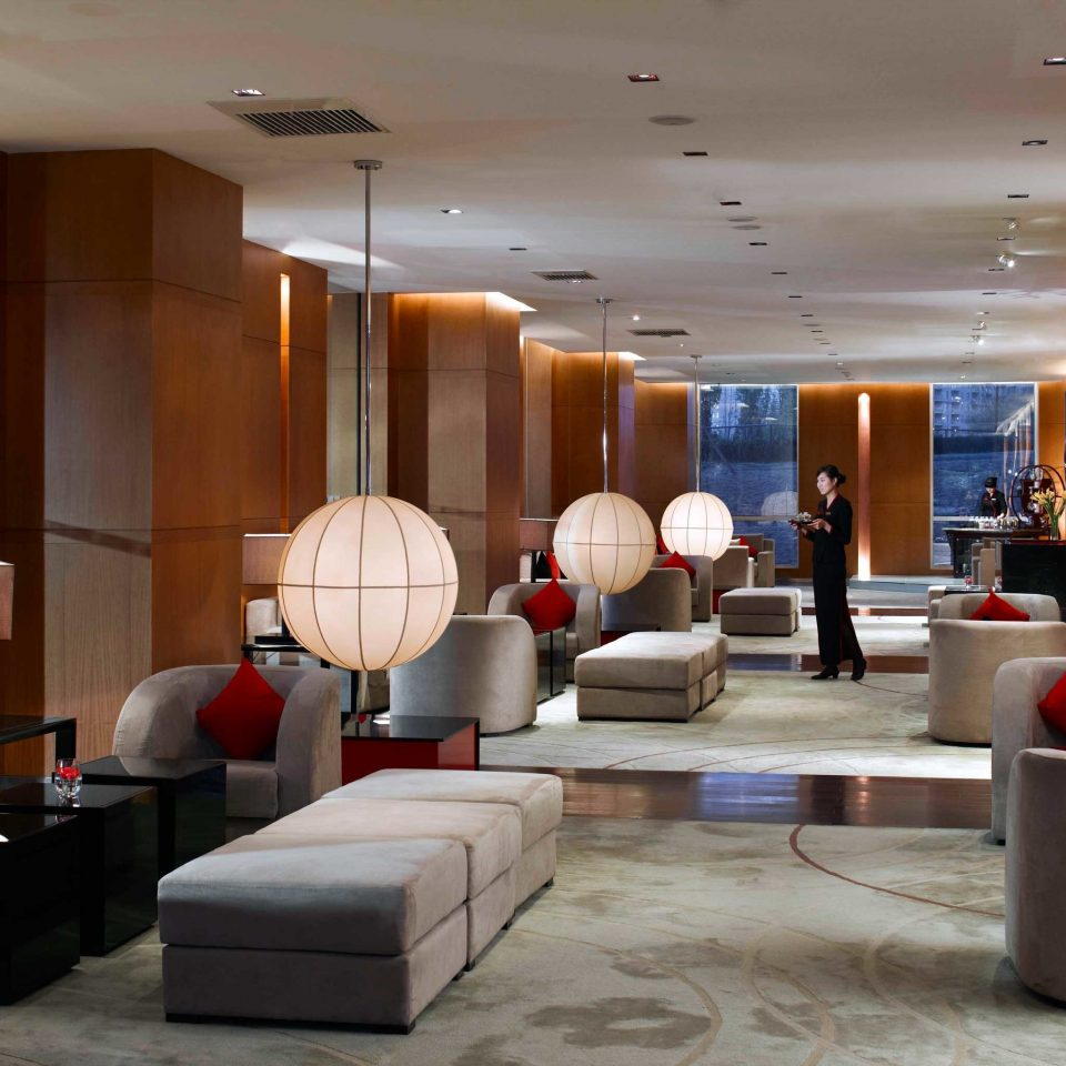 City Hip Lounge Luxury Modern Scenic views Lobby property living room condominium conference hall Suite function hall restaurant convention center