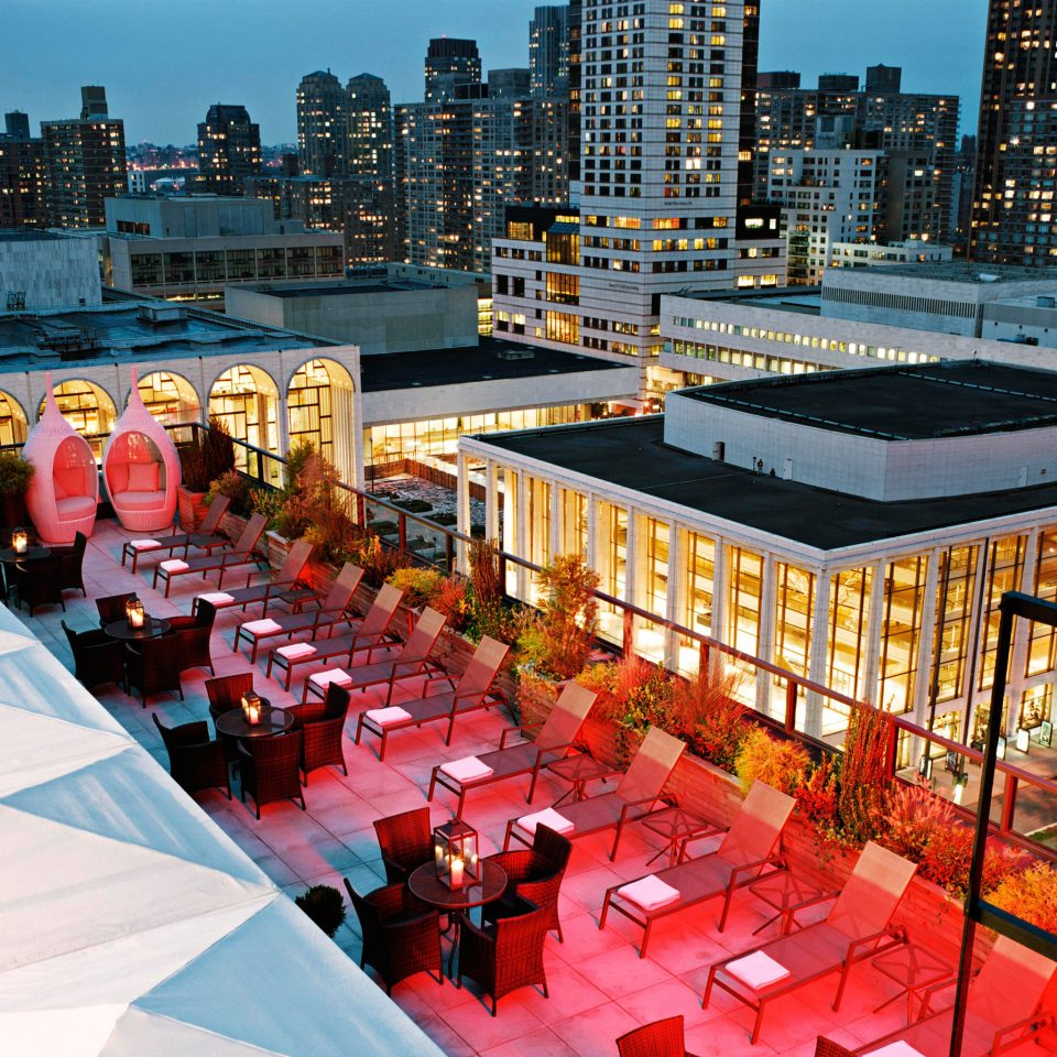 City Hip Modern Nightlife Rooftop Scenic views Terrace crowd