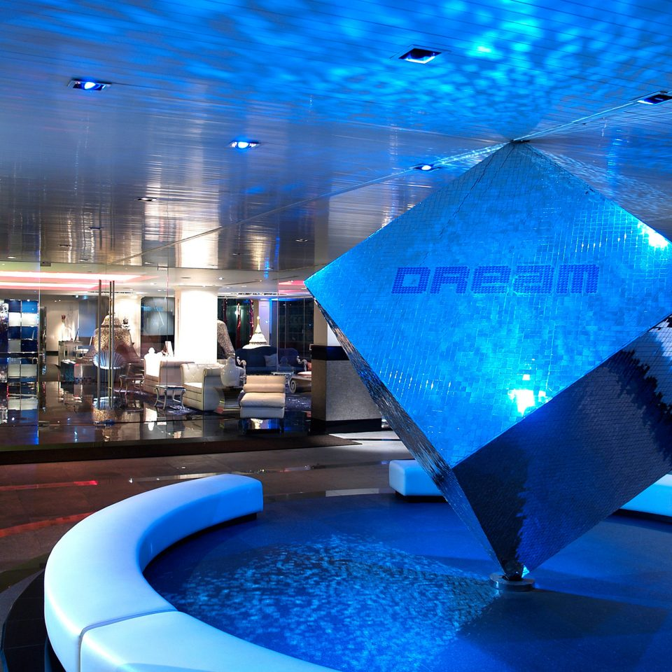 City Hip Nightlife blue swimming pool night nightclub