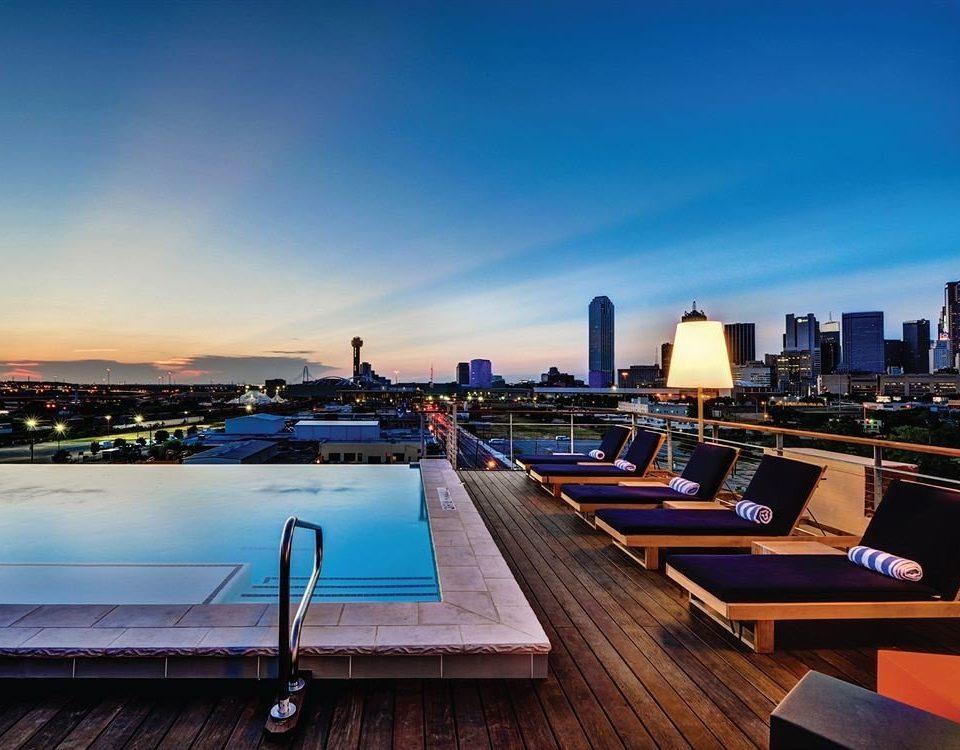 City Hip Pool sky wooden scene dock evening skyline dusk