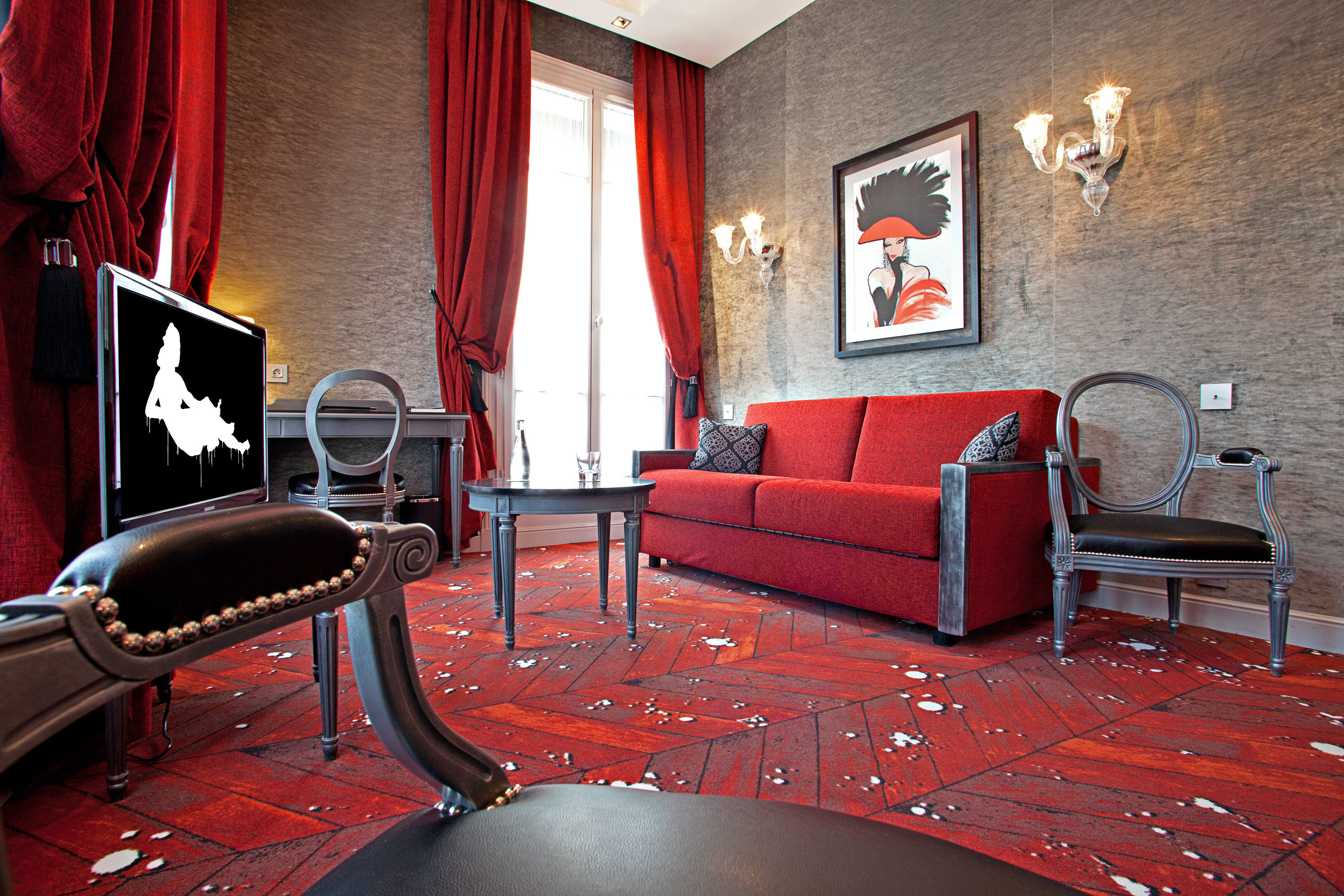City Hip chair red living room Suite recreation room