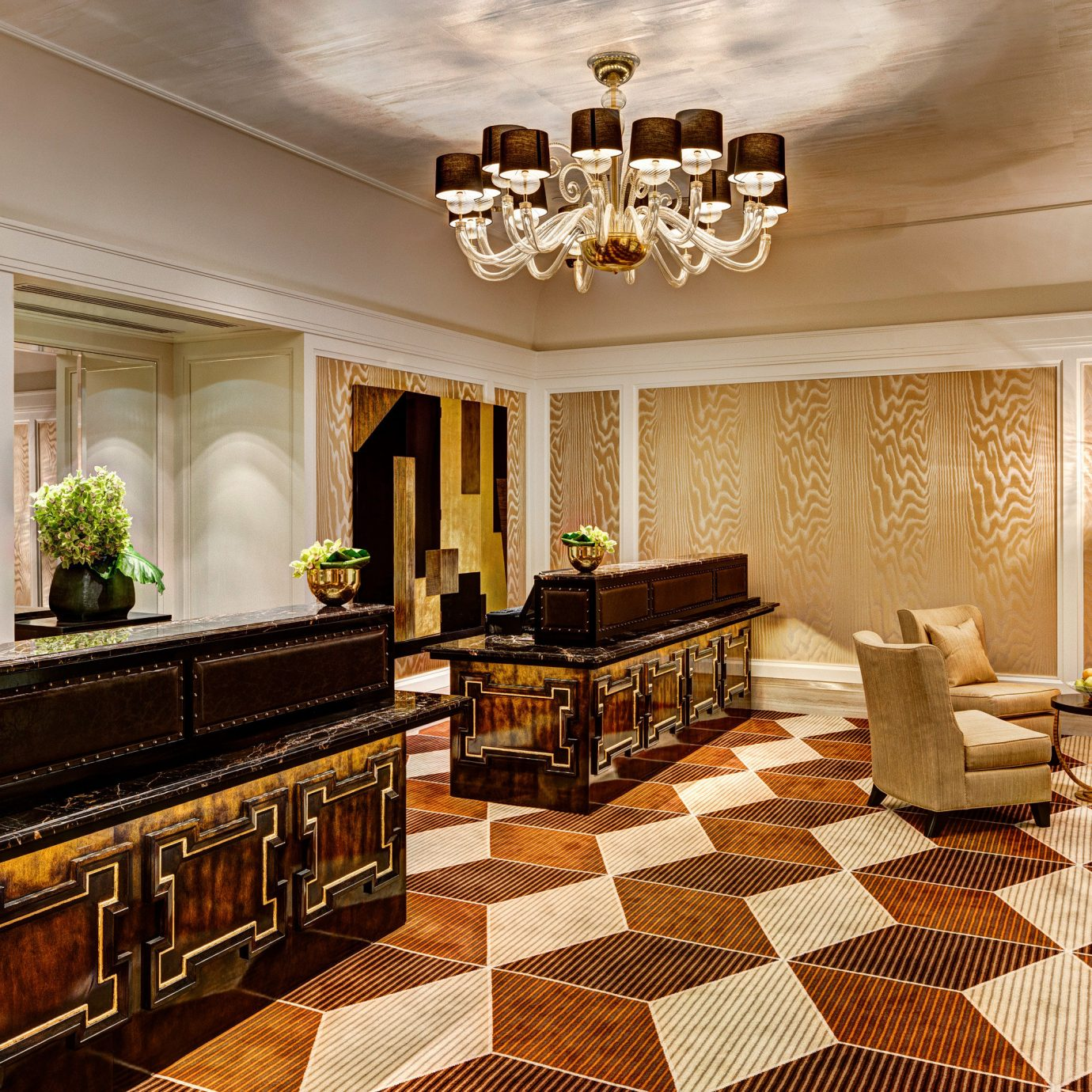 City Historic Lobby Modern property living room mansion home hardwood flooring Suite wood flooring