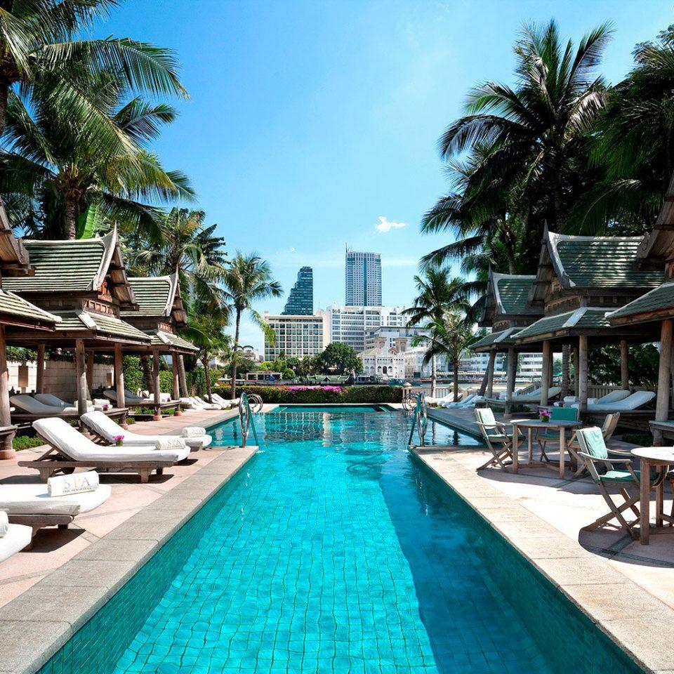 City Hotels Patio Pool Romance tree ground leisure swimming pool Resort chair property Picnic resort town condominium Villa shade