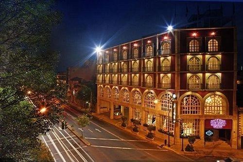 night street City lighting plaza light metropolis