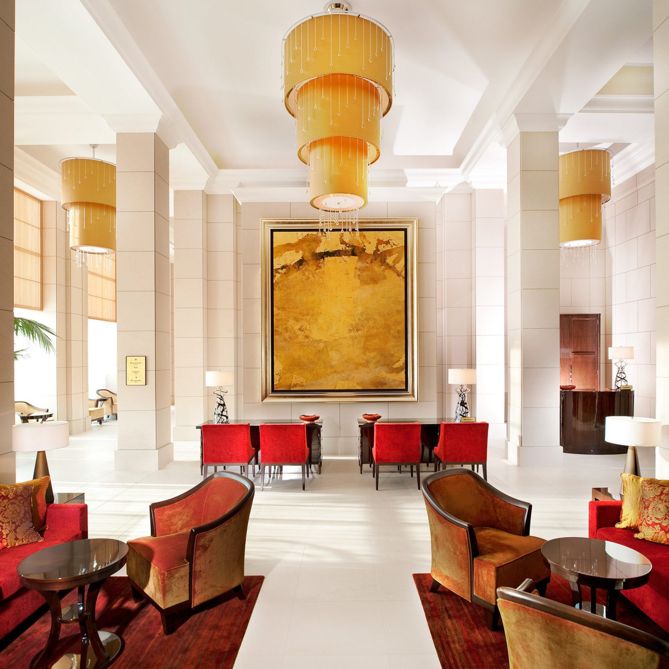 City Lobby Lounge Luxury Modern property living room home lighting