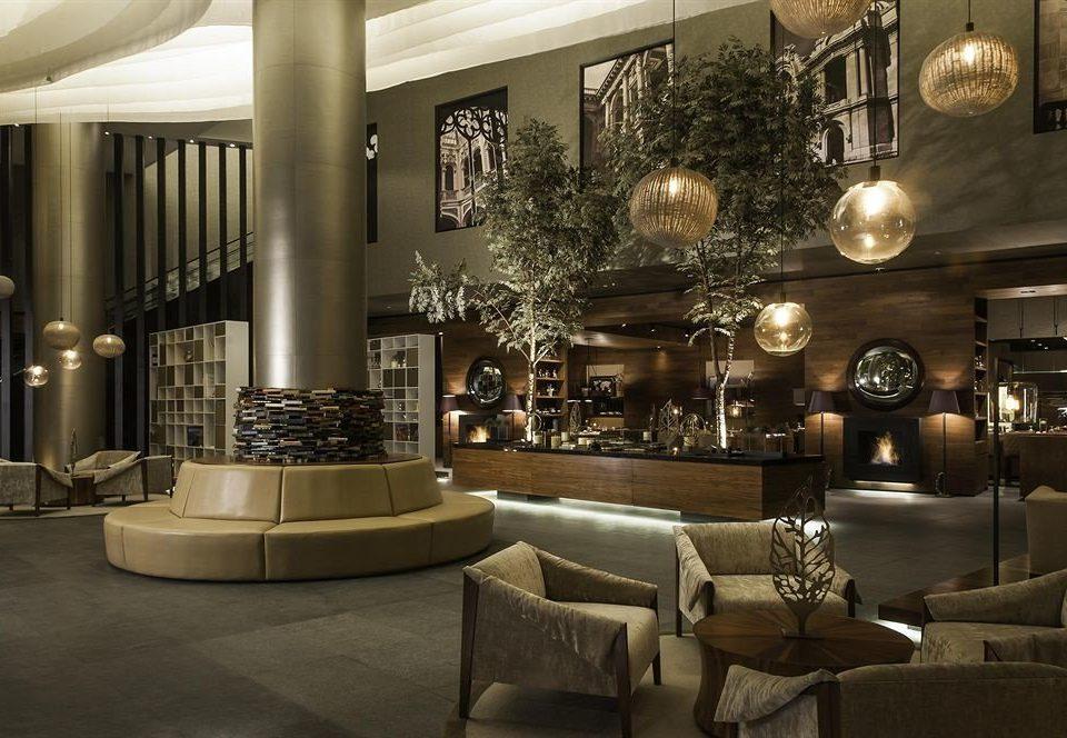City Lobby Lounge Modern living room home lighting mansion restaurant